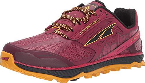 ALTRA Women's ALW1855L Lone Peak 4 Low RSM Waterproof Trail Running Shoe, Beet Red - 8 M...