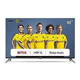 CHiQ Televisor Smart TV LED 40 Pulgadas FHD, HDR, WiFi, Bluetooth, Youtube, Netflix, Prime Video, 3 x HDMI, 2 x USB - L40H7N