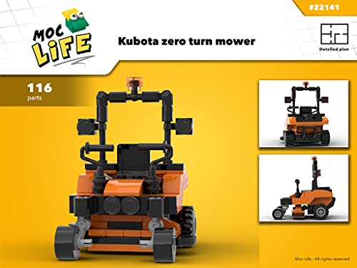 Kubota zero turn mower (Instruction Only): Moc Life (Kubota equipments Book 2)