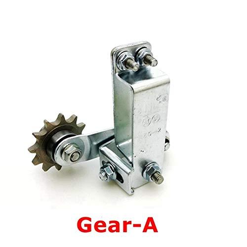 ANROSTA Cadena de Motocicleta Rodillo Tensor de la Cadena en Tornillo ajustador automático del motocrós Que compite con Reinstale (tamaño : Gear A)