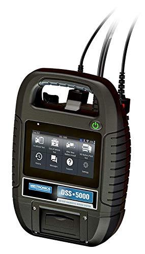 Profiling Midtronics DSS5000PA EU Conductance Profiling - Comprobador de baterías con impresora integrada y pinza amperimetral