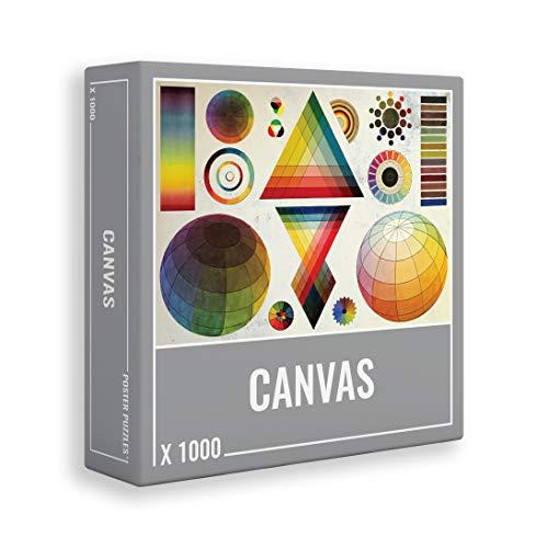 Cloudberries Canvas Puzzle 1000 Teile: Cooles, Anspruchsvolles Puzzle für Erwachsene!
