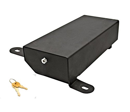 Bestop 42640-01 HighRock 4x4 Under Seat Lock Box for 2007-2018 Wrangler JK, Driver side (Does not fit 2011-2018 Wrangler JK 2-Door models)
