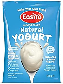 Easiyo 自然のヨーグルトミックス140グラム - Easiyo Natural Yoghurt Mix 140g [並行輸入品]
