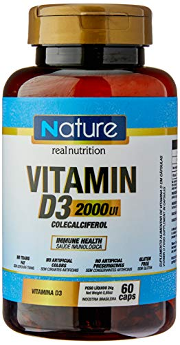 Vitamina D3 2000 UI (60 caps), Nutrata
