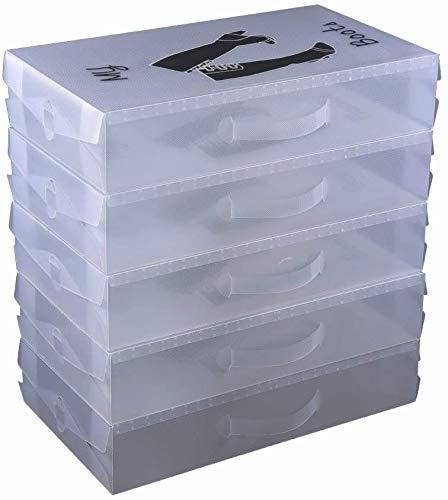 Loywe Schuhaufbewahrung Stiefelbox schuhkasten Stiefel 52x30x11cm, LWA191-5X
