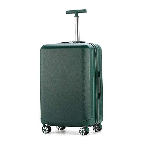 Ys-s Personalización de la tienda Single-carretilla Box contraseña anti-arañazos caja de la carretilla Mujer fresca Estudiante Universidad maleta de equipaje impermeable, transpirable, resistente al d