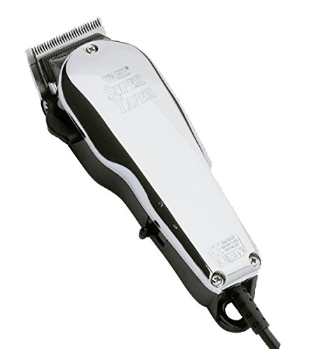 Wahl Chrome Super Taper - Cortapelos, red