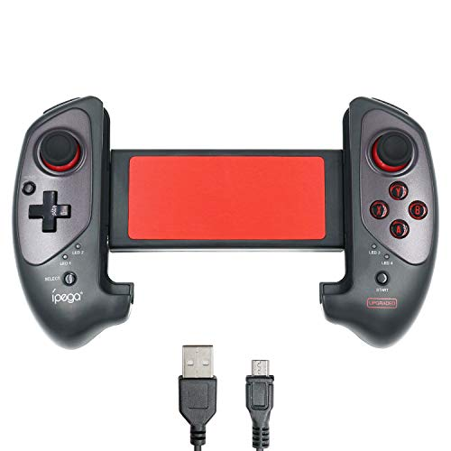 Mcbazel IPEGA PG-9083s Wireless 3.0 Ausziehbares Gamepad - Teleskop-Spiele-Controller-Joystick-Pad für 5-10 Zoll Android Smart Phones Tablets Windows PC (NICHT für iOS)
