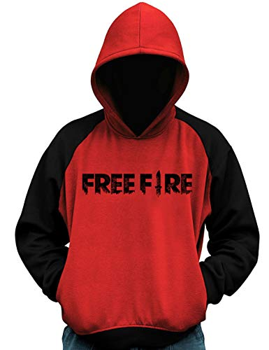 Blusa Moletom Free Fire Frente e Costas Jogo Freefire Casaco