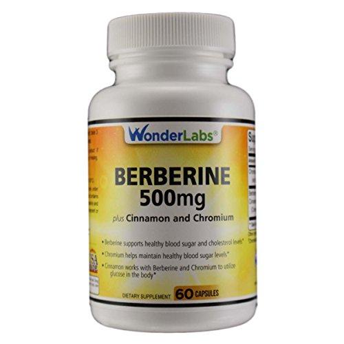 Berberine Cholesterol Blood Sugar Supplement: HCL...