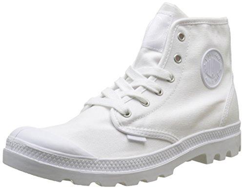 Palladium Pampa Hi, Sneaker a Collo Alto Uomo, Bianco (White/White 924), 41 EU