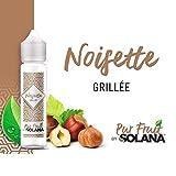 Noisette grillée 50ml Pur Fruit by Solana - 1 cadeau offert sans Nicotine ni Tabac