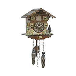 Trenkle Quartz Cuckoo Clock Swiss House TU 432 Q