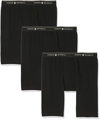 Punto Blanco 5324240 Boxer, Negro(Negro090), Large (Tamaño del Fabricante:52) para Hombre