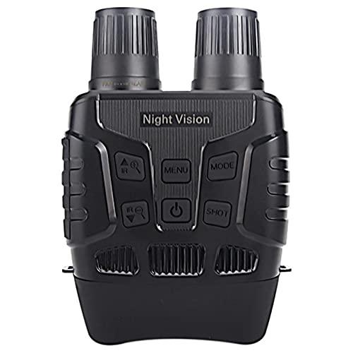 YLJR Binoculars Digital Night Vision Binoculars Infrarrojos 300M HD Hunting Telescope 4X Zoom Optics IR Cámara 23' ScreenOcular Grande para Viajar