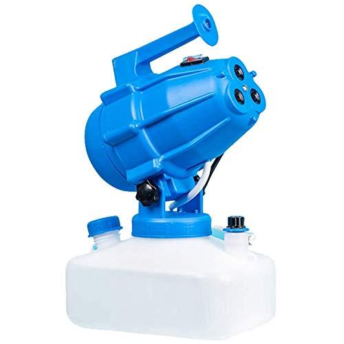 Migaven Nebulizzatore, Nebulizzatore Disinfettante Ambienti, 5 Litri ULV Elettrico Nebulizzatore Portatile, ULV Nebulizzatore per Ambienti Spruzzatori Industriali per Ufficio Agricolo Blu