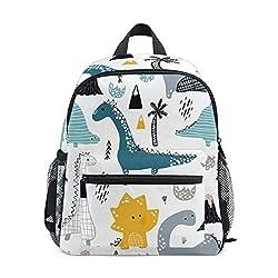 in budget affordable Cute toddler kids backpacks, dinosaur school backpacks for boys and girls, kids backpacks for preschoolers …