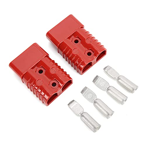 Buachois Batterie-Schnellanschluss Abschleppseil-Schnellverbindungssysteme Kabelbaum Steckeranschluss für Bergewinde-Anhänger 175 Ampere 1/0 Awg trennen