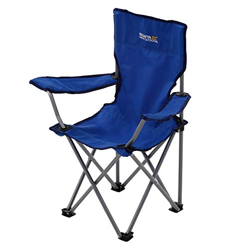 Regatta Isla lichtgewicht, opvouwbare campingstoel, Oxford blauw, One Size