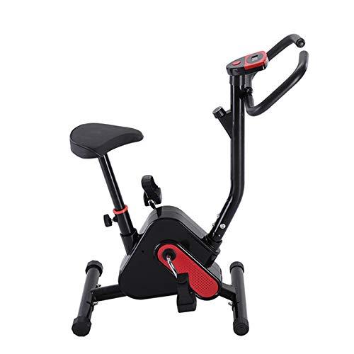PHASFBJ Bicicletas estáticas de Spinning,Máquinas de Cardio con Resistencia Ajustable,Pantalla LCD,Aire Libre Bicicleta estática de Altura Ajustable