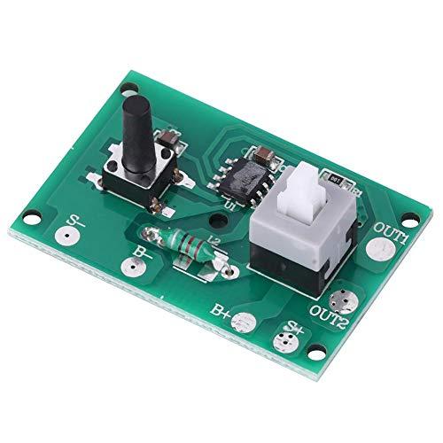 2Pcs Solar Lamp String Controller Modul Platine mit 8 Arten Lichtmodus