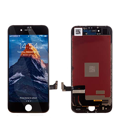 PassionTR iPhone 7 Plus 5.5 Inch Screen Replacement LCD Digitizer Full Assembly in Black