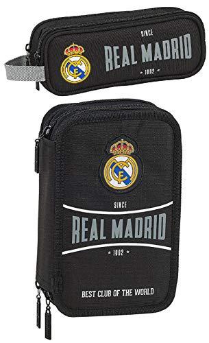 Real Madrid 1902 - Estuche con diseño de fútbol