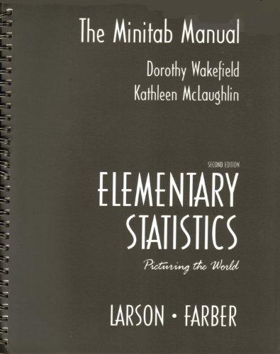 Elementary Statistics Minitab