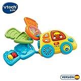 VTech-80-150622 Llavero electrónico Infantil con Forma de Coche (3480-150622)