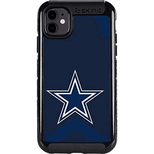 Skinit Cargo Phone Case Compatible with iPhone 11 - Officially Licensed NFL Dallas Cowboys Double Vision Design