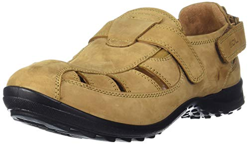 Woodland Men's Camel Leather Sandal-6 UK/India (40 EU) -(OGD 1196112)