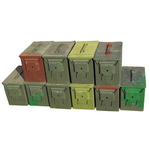 Great Features Of Fat 50 Ammo Can-Grade 2 (10 Pack)