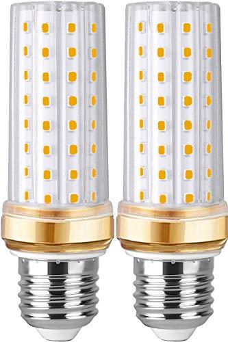 E27 LED Warmweiss 20W Ersetzt Glühbirnen 200W Mais LED E27 Birne Lampen 3000K 2250 lm,Edison Schraube Energiesparlampe Birnen Led Maiskolben E27 Warmweiß Kerze Licht Glühbirne Nicht Dimmbar 2er Pack