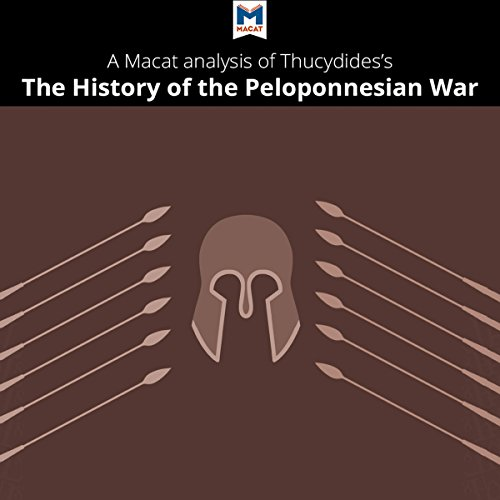 A Macat Analysis of Thucydides' History of the Peloponnesian War audiobook cover art