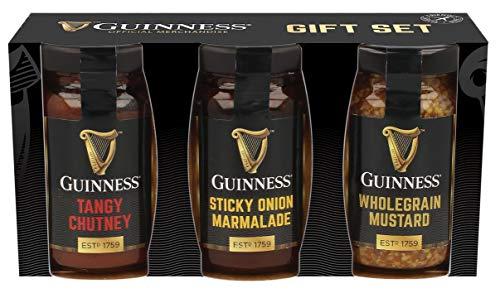 Guinness Gourmet Chutney, Senf und Marinade als 3er Set