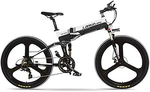 Bicicletas Eléctricas, E-Bici 26 pulgadas eléctrica plegable delantera de la bici y...