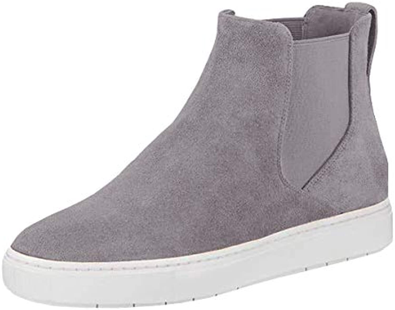 kvinnor Slip On High Top skor Flatbform Elastisk Panel Mode Mode Mode Sport gående skor  rimligt pris
