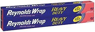"""Reynolds Heavy Duty Foil 18"""" X 150' Feet, 2 Pack"""
