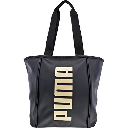 PUMA Evercat Royale PU Tote Black/Gold One Size