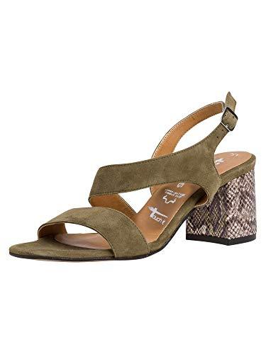 Tamaris Damen 1-1-28385-24 711 Sandalette Touch-IT
