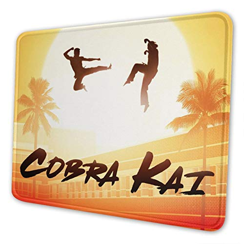 Cobra Kai Mouse Pad Mouse Mat Gaming Mouse Pad Mouse Mat for Office Supplies 10x12inch