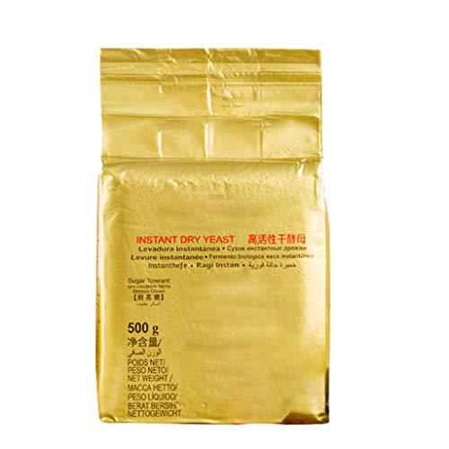 Koehope 500 g actief drooggist, broodgist, met hoge glucose, tolerantie direct drooggist, sterk actief poeder, brood, bakken