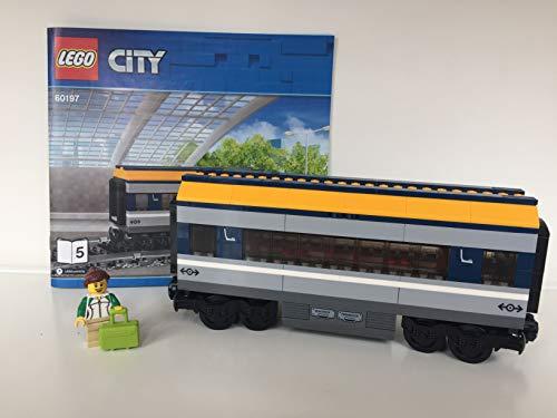 Lego ® City ™ Eisenbahn Waggon Personenwagen ( aus Personenzug 60197)