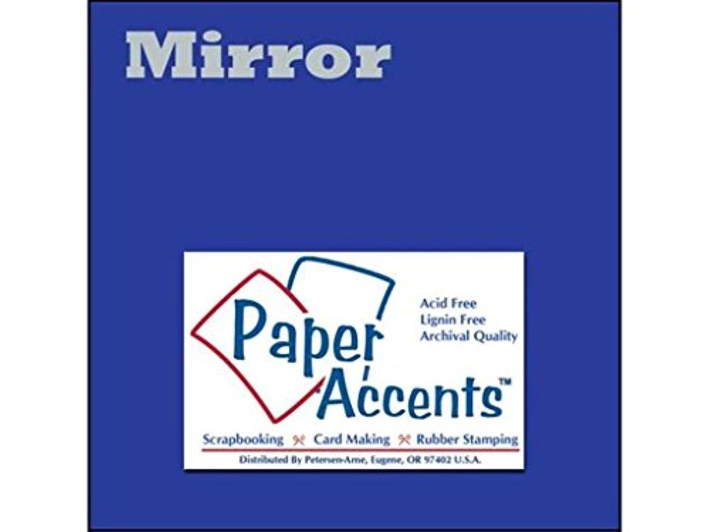 Accent Design Paper Accents Cdstk Mirror 12x12 13pt Blue