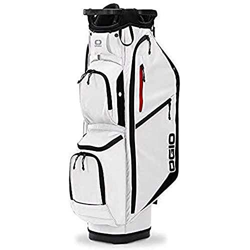 Callaway 5120062OG OGIO Fusible 14 Bolsa para Carrito de Golf (2020), Blanco
