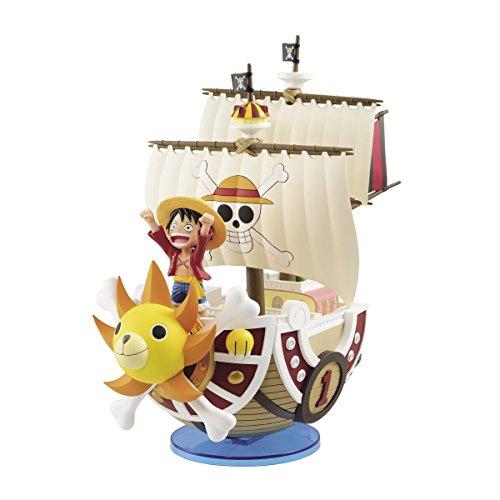 Banpresto One Piece Mega World Thousand Sunny & Luffy Special Figure Statue