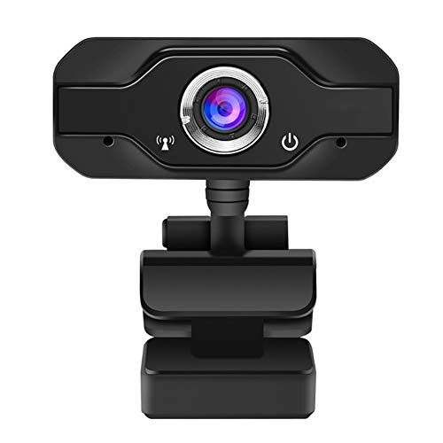 Goshyda Cámara Web, 1080P de Alta definición, cámara Web para conferencias de enseñanza en línea, con micrófono Incorporado
