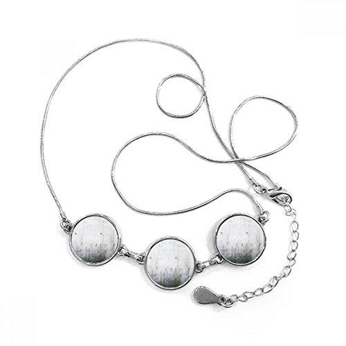 Doe-het-zelf halsketting, zwart/wit, met decoratieve letteratuur, illustratie van patroon, ronde vorm, halsketting, sieraad met ketting, decoratie, cadeau