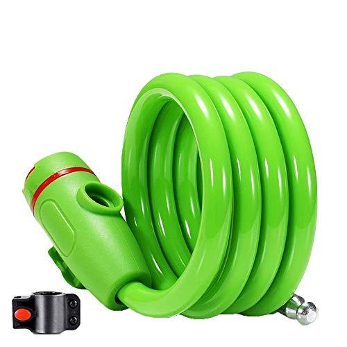 First Choice Fahrrad u Sperren, sicherer Diebstahlsicherung/leicht zu speichern/Fahrrad Diebstahlsicherungsverriegelung Hohe Festigkeit/Starke und langlebige/Kabelschlösser sind for n Bikes ge